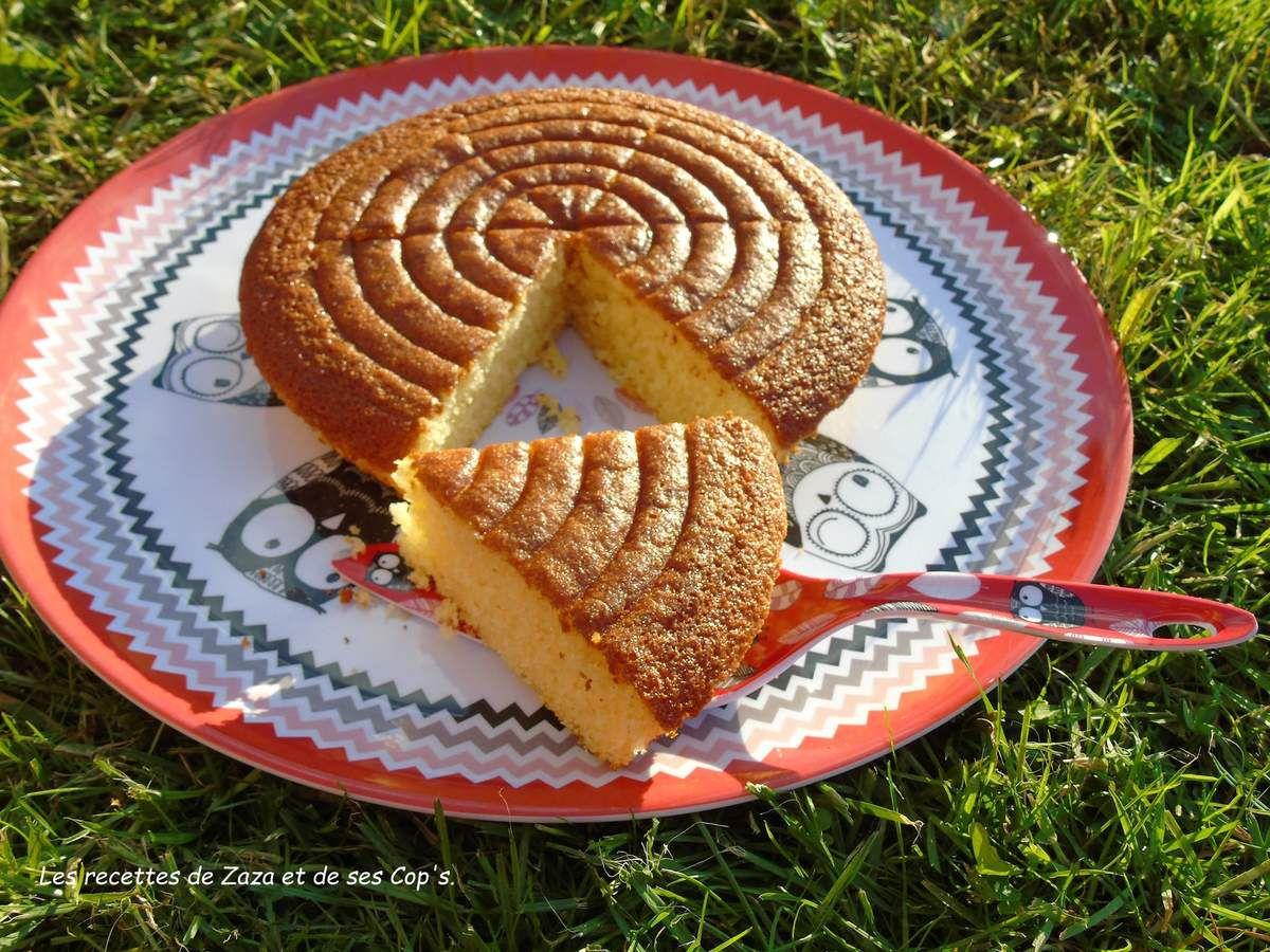 Moelleux à la vanille et fleur d'oranger