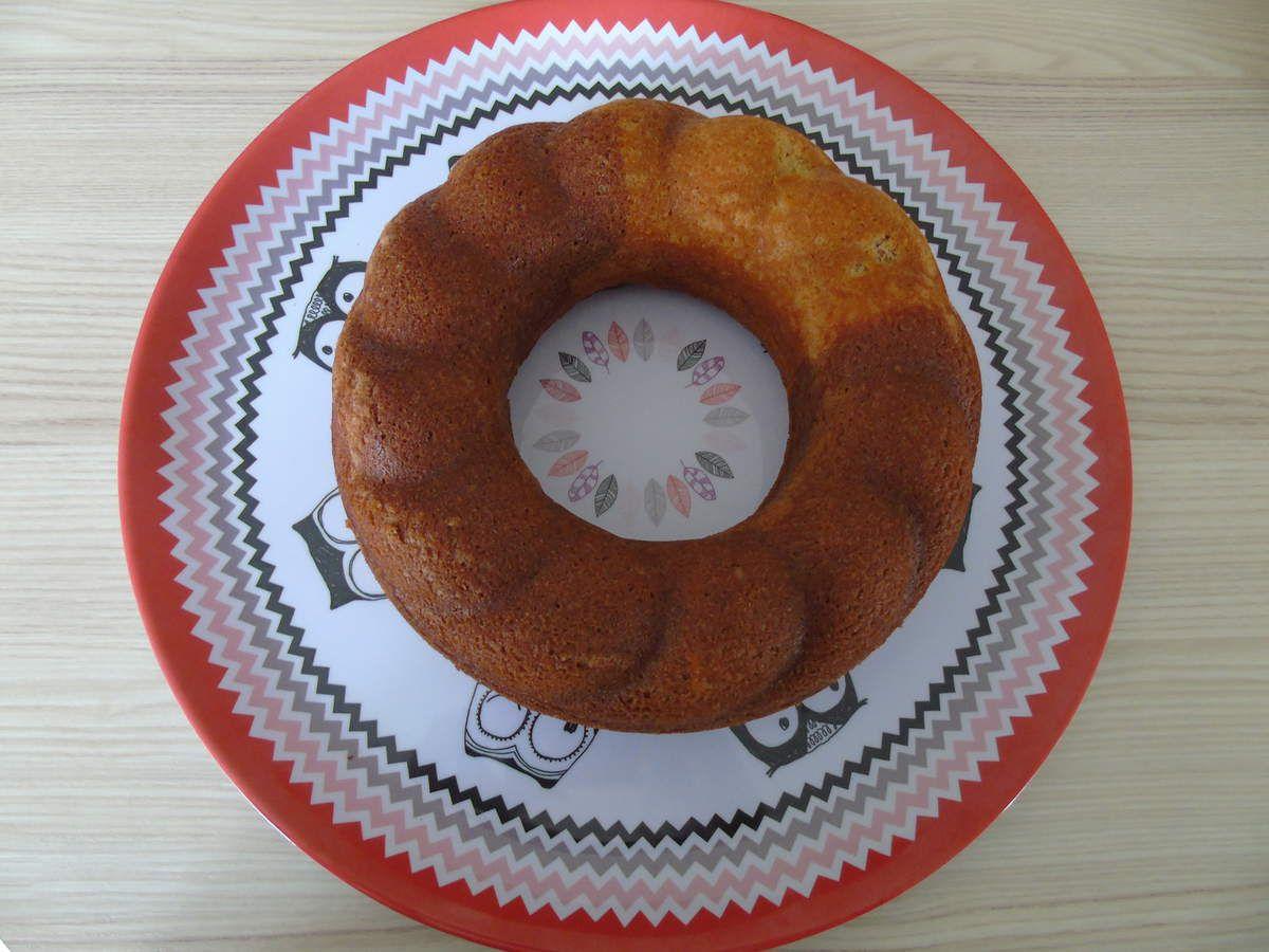 Gâteau marbré sans jaunes d'oeufs