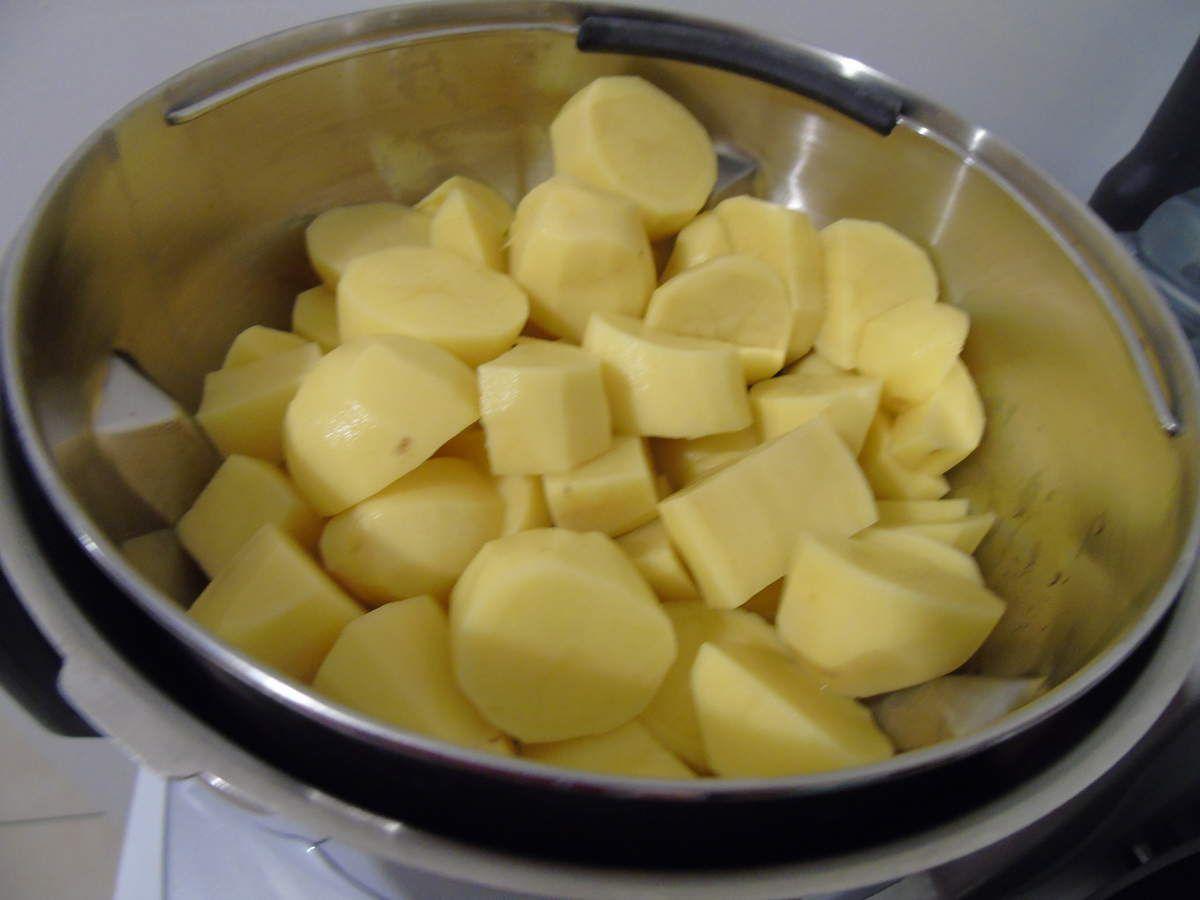 Purée de pommes de terre au Cook Expert