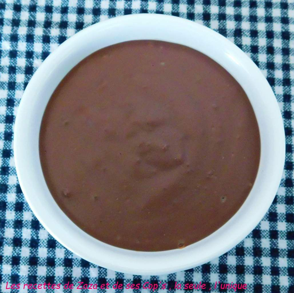 "Crème dessert à la pâte à tartiner ""Maltesers"""