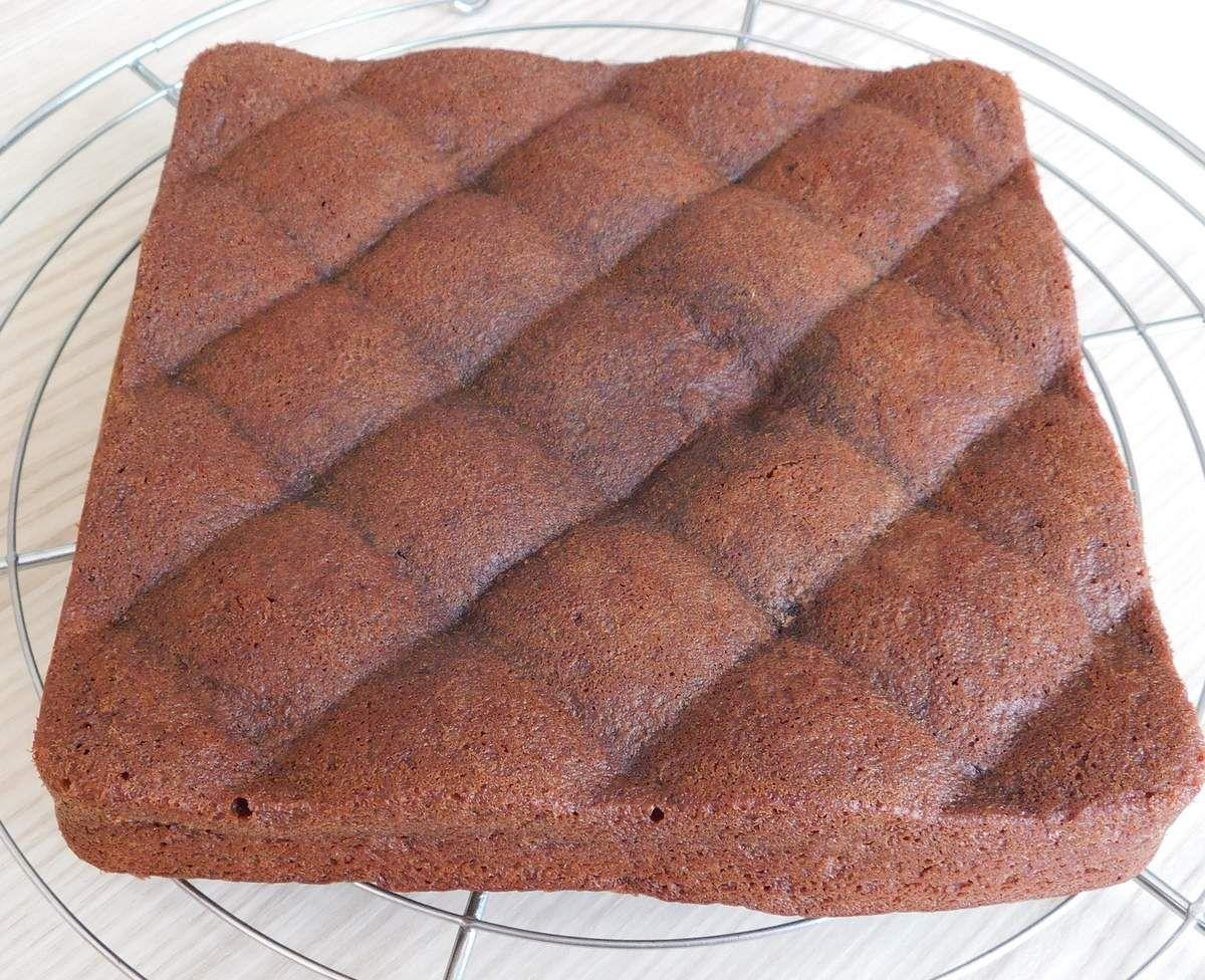Gâteau au chocolat et à l'amande