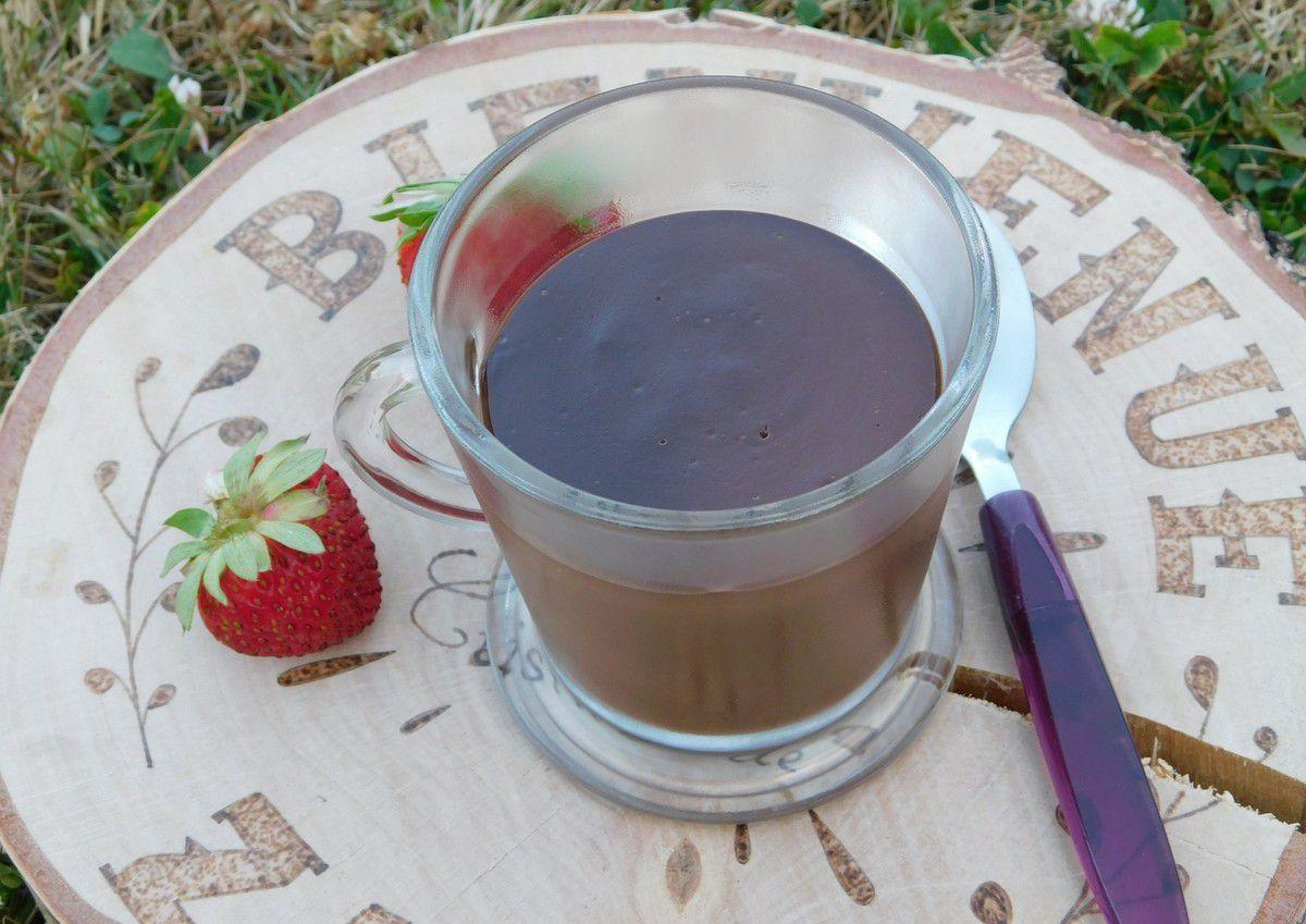 Crème au chocolat et cacao