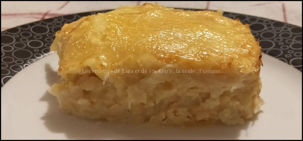 Gratin de Chouclette pré cuit au Cookeo et cuit au four