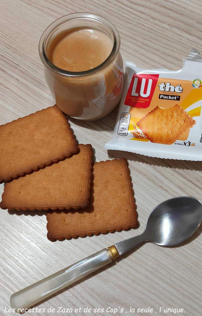 Crème dessert biscui'Thé ...