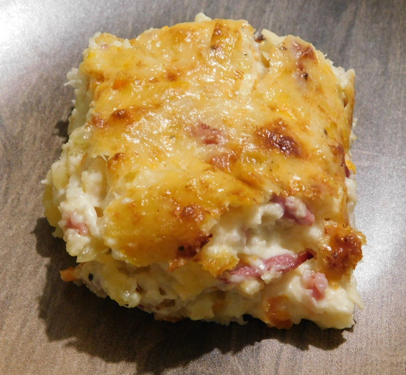 Gratin  Made in Zaza avec pré cuisson au Cookeo (ou pas)