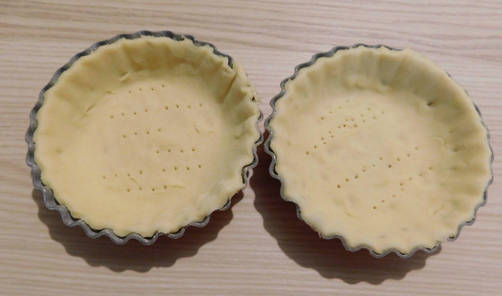 Tartelettes aux 2 chocolats