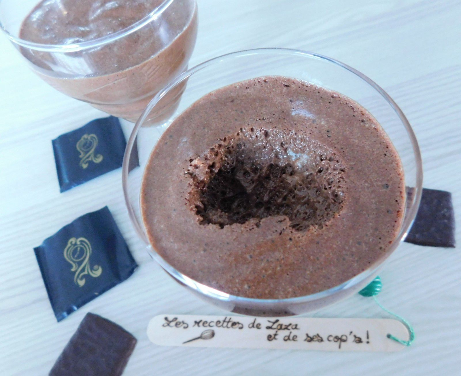 Mousse au chocolat After Eight