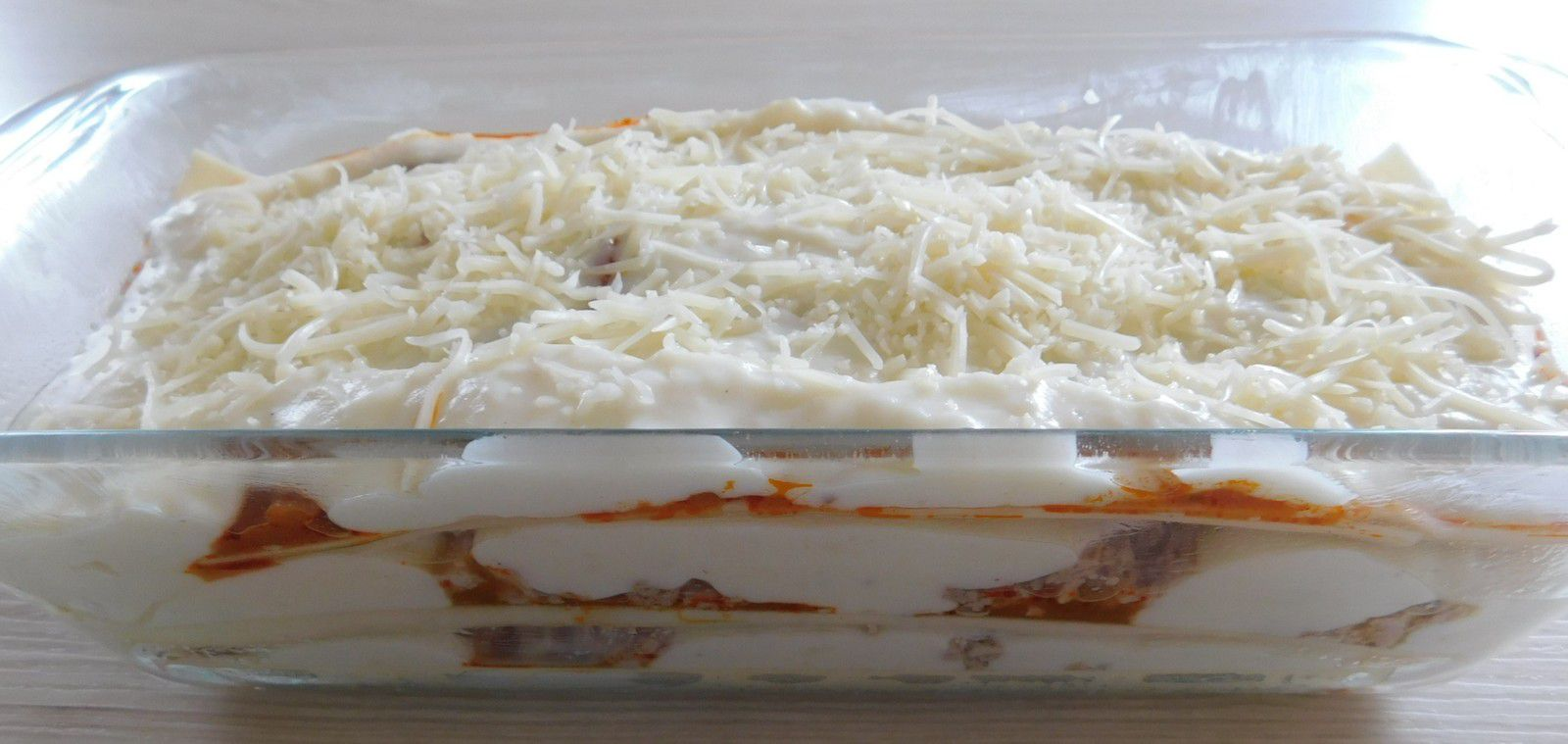 Lasagnes à la ratatouille et au thon