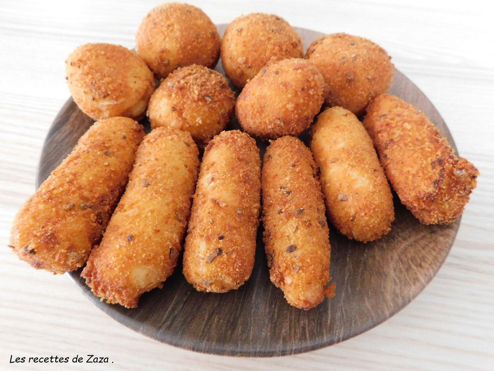 Croquettes de pommes de terre de Chef Simon