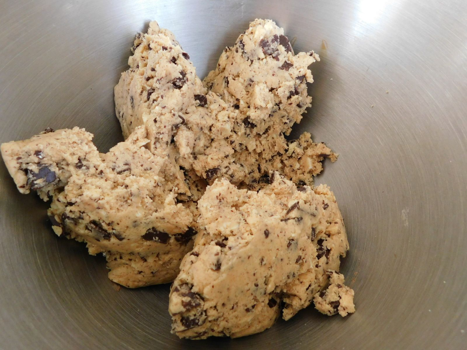 Cookies choco blanc et choco noir