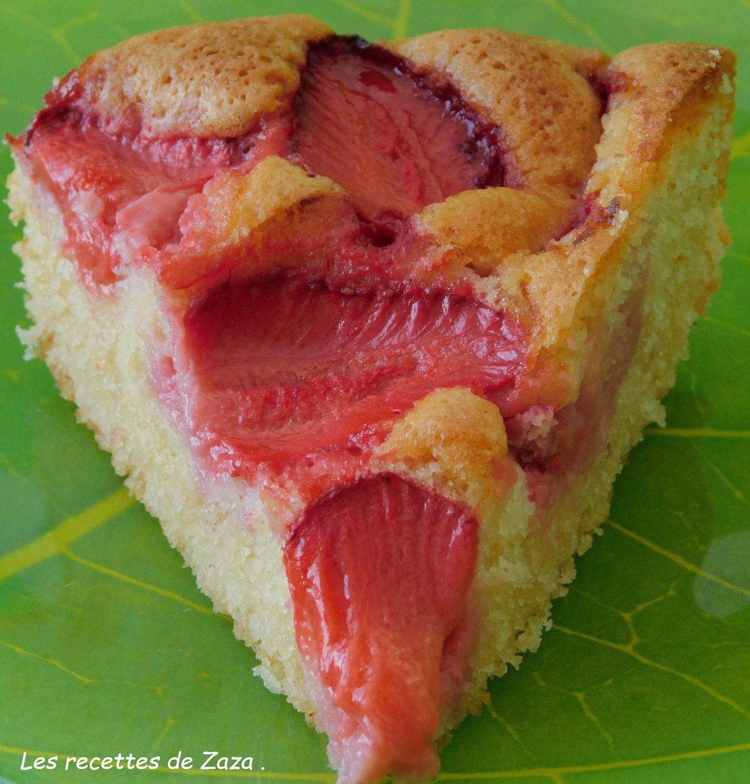 Gâteau à la fraise