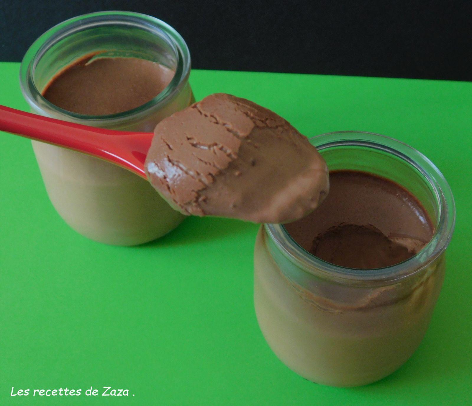 Crème chocolat noir et pralinoise