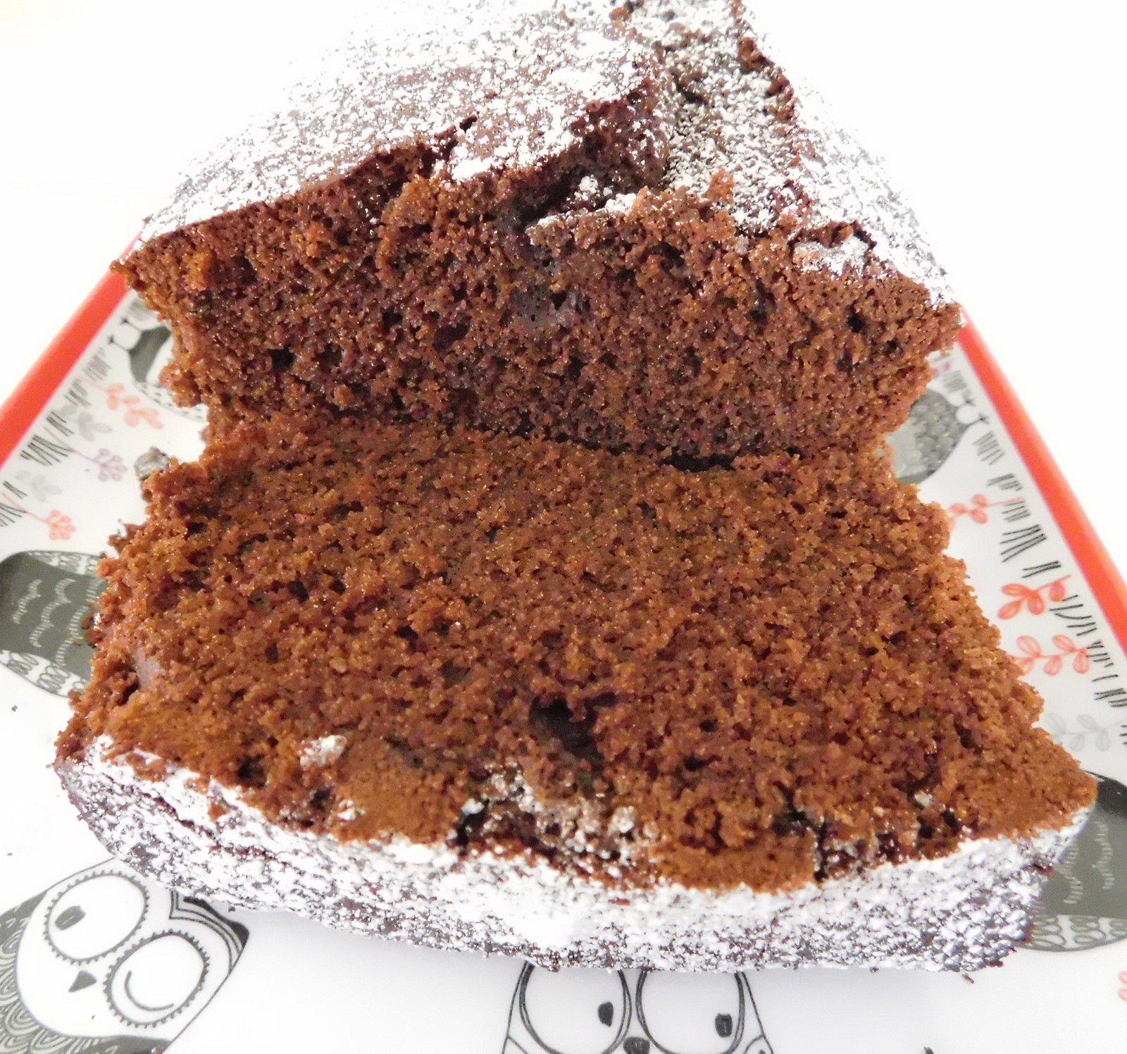 Cake au Cacao et au Café