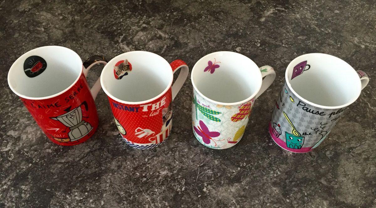 Mes mugs Fox Trot