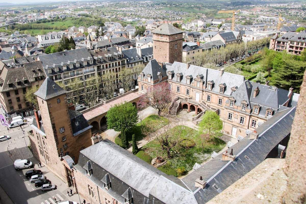Vue sur la ville de Rodez