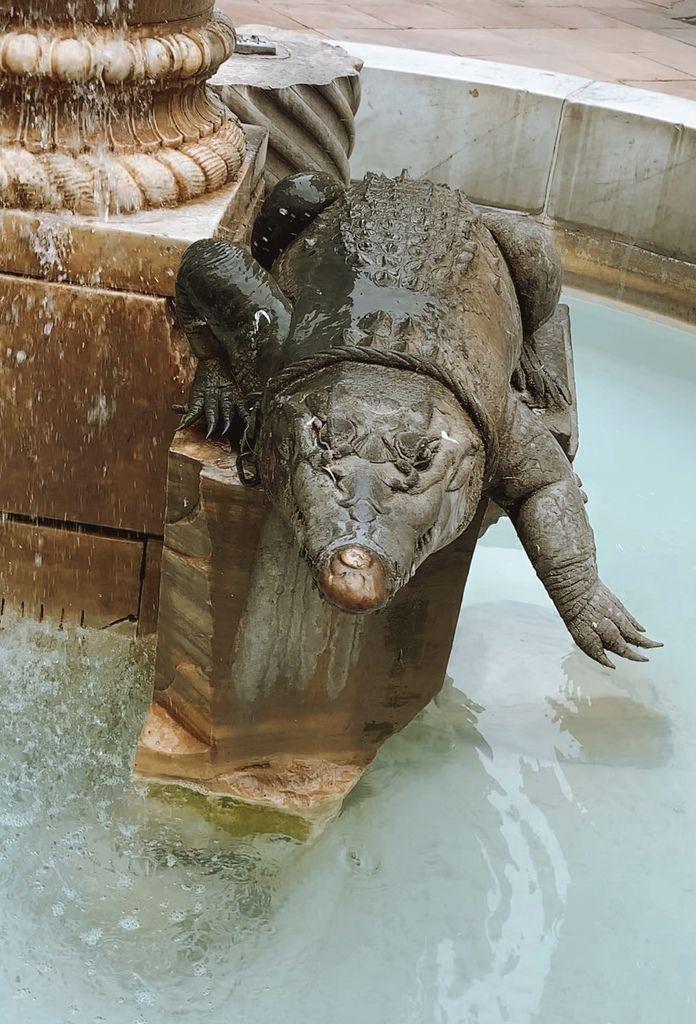 Le Crocodile symbole de Nîmes