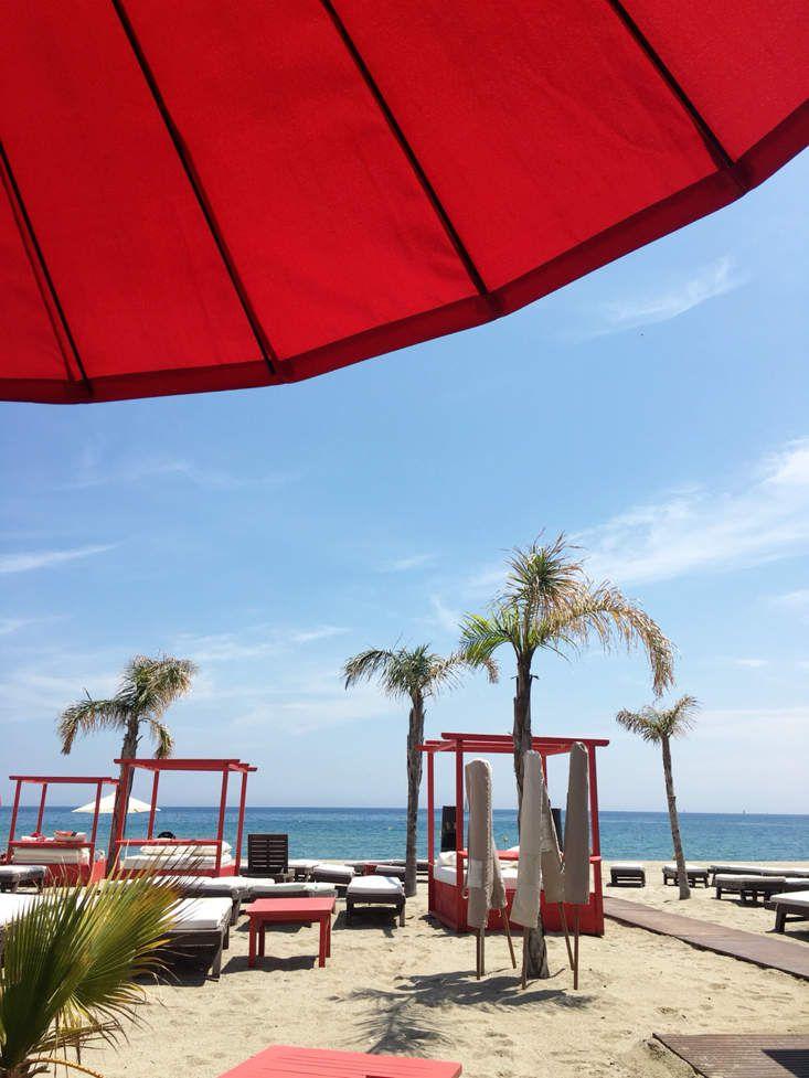 Petit coin de paradis dans le sud de la France le restaurant le Temple Beach à SaintCyprien