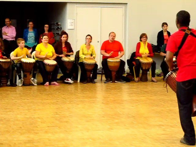 DJEMBE. COURS D'ESSAI !!!