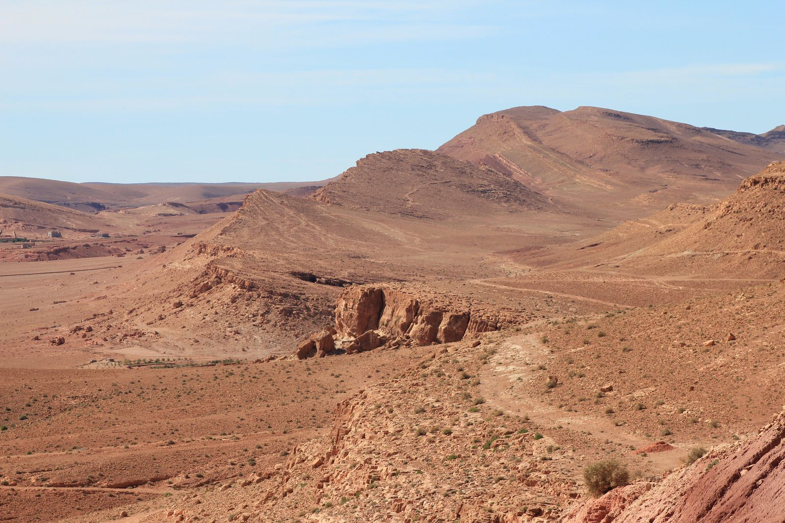 Panorama de Tinghir
