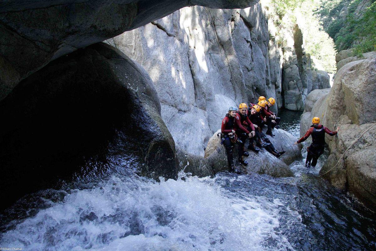 Le Canyon de la Besorgues, en Ardèche au pays d'Aubenas-Vals.