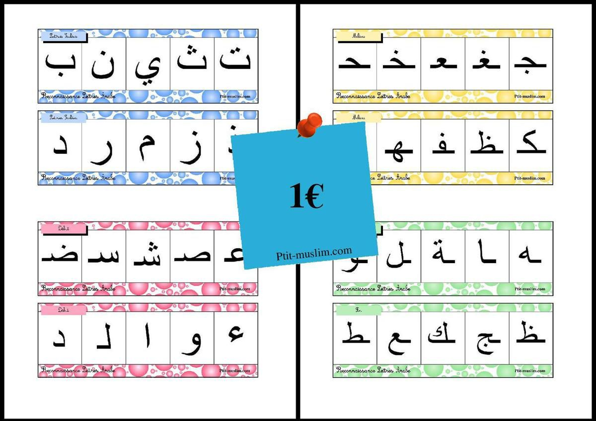 Reconnaissance Lettres Arabe