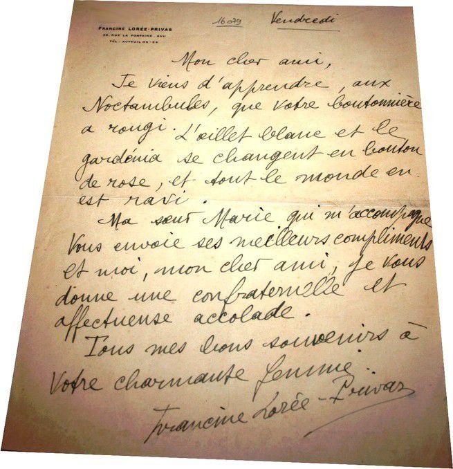 FRANCINE LOREE PRIVAS.