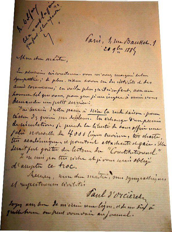CAPEDEVILLE (Auguste dit Paul d'Orcières)