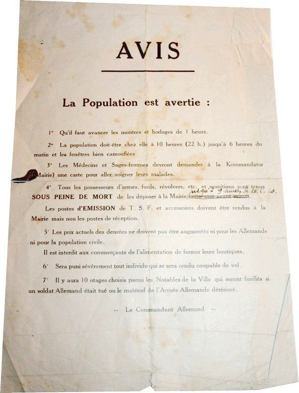 Tract Allemand 1940