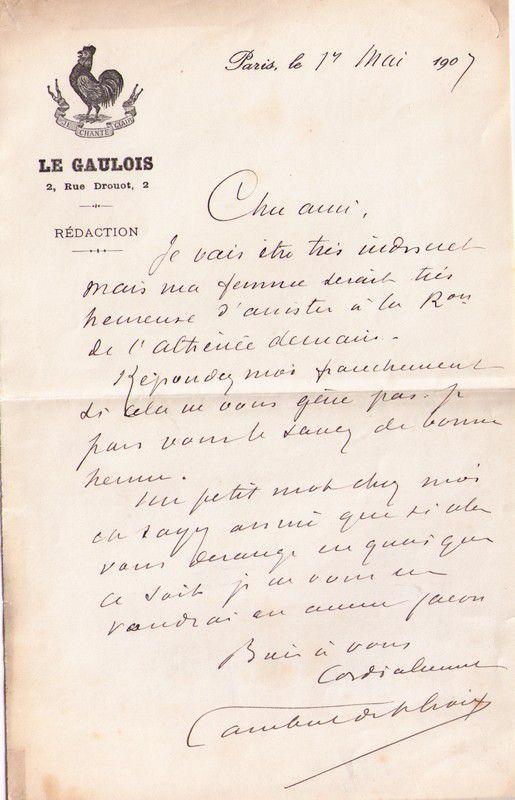 LAMBERT DE SAINTE-CROIX (Alexandre)