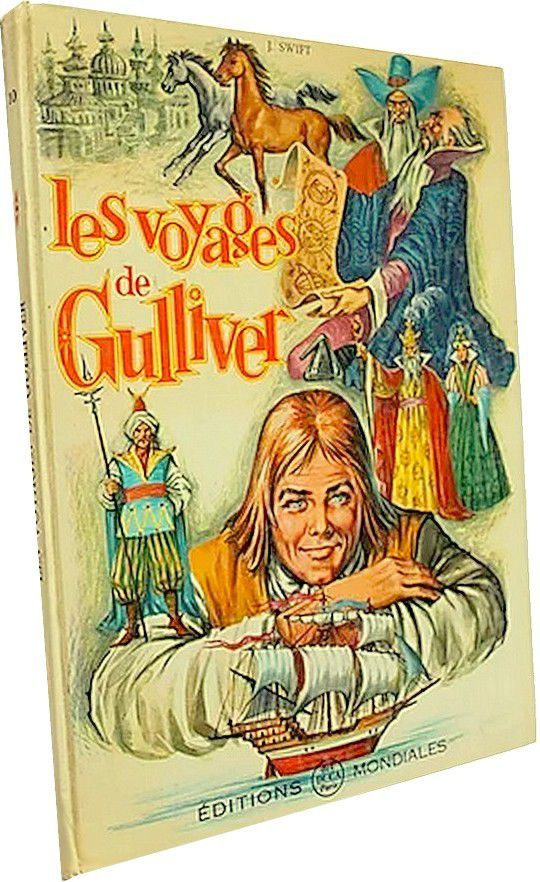 Les voyages de Gulliver,texte, J Swift - illustrations de Gui-Pin