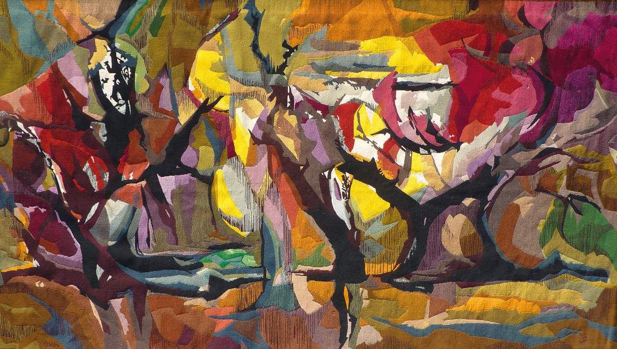 Gisela LEITNER - Automne - tapisserie