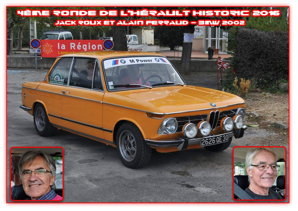 4ème Ronde de l'Hérault Historic 2016