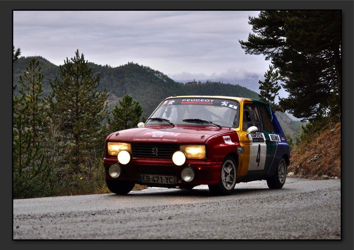 Carlos ANTUNES-TAVARES (FRA) Laurent VALLERY-MASSON (FRA) - Peugeot 104 ZS de 1979