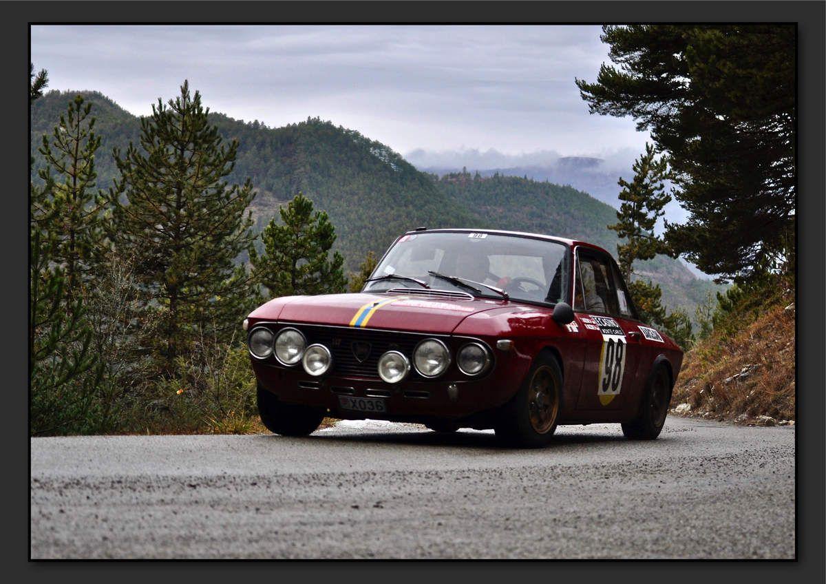 Michel MAZZONE (ITA) Thierry MAZZONE (ITA) - Lancia Fulvia HF 1.6 de 1969