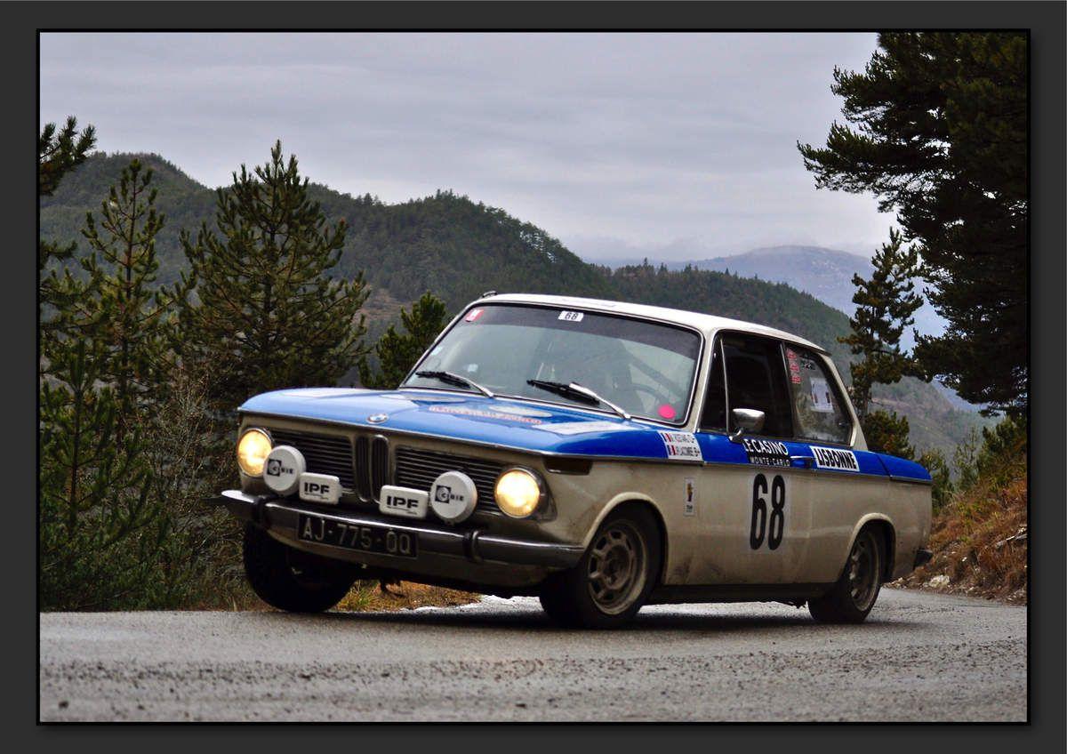 Michel ROSTANG (FRA) Jean-Paul LACOMBE (FRA) - BMW 1602 de 1970