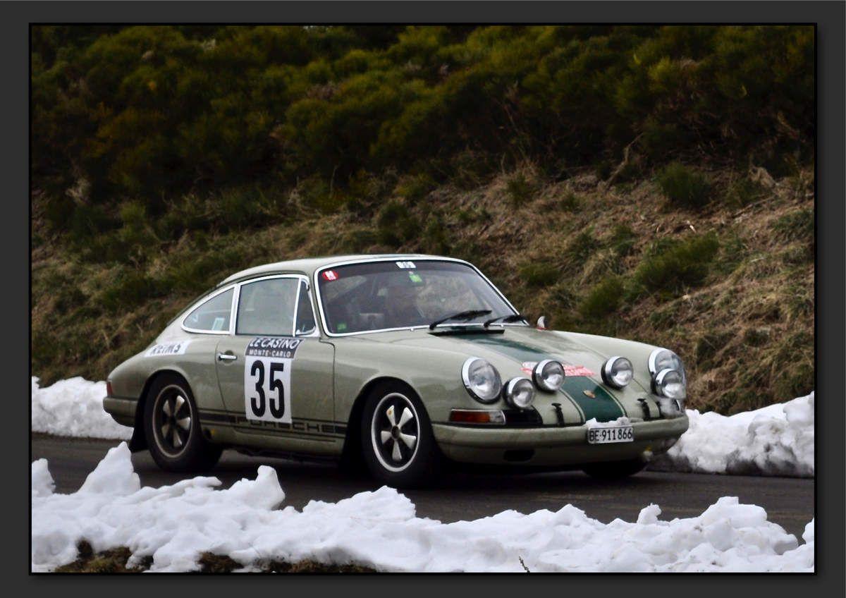 Franco LUPI (CHE) Peter LIVANOS (GRC) - Porsche 911S 2.0 de 1965