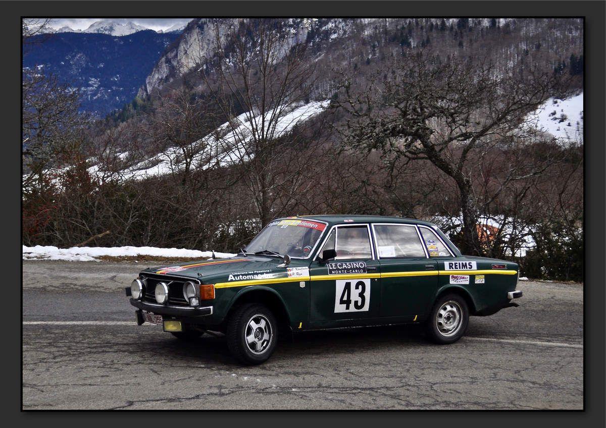 Jean-Claude KAUFFMAN (BEL) Pierre RIGA (BEL) - Volvo 144 de 1972