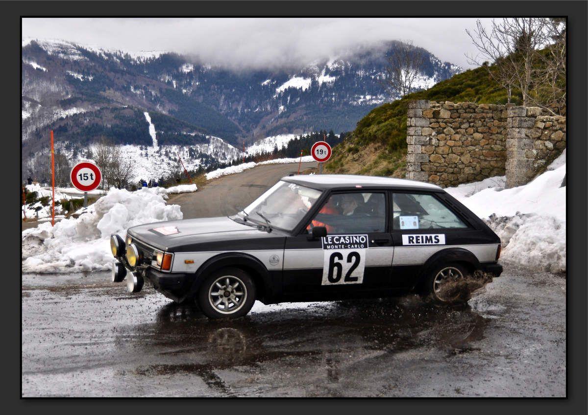 Stéphane VOUILLON (FRA) Christian ROUSSEL (FRA) - Talbot Sunbeam Lotus de 1976 - 10ème classement final