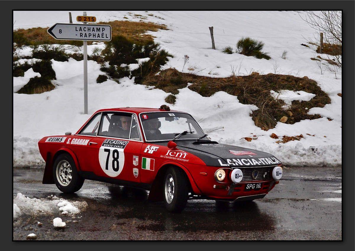 Steve GRAHAM (GBR) Tony GRAHAM (GBR) - Lancia Fulvia HF 1600 de 1972