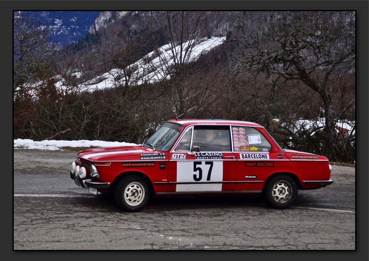 Alexandre LEROY (FRA) Nicolas DELANGUE (FRA) - BMW 2002 Tii de 1974