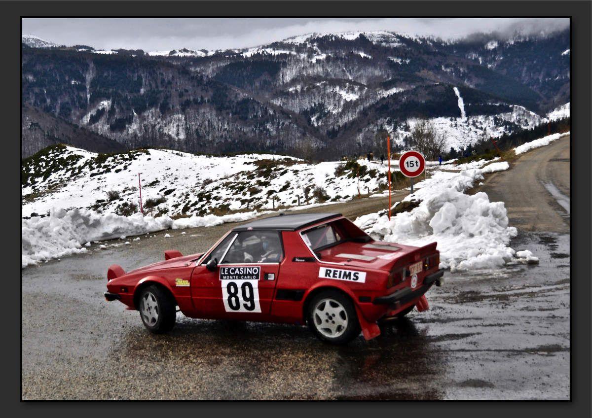 Michel DARTEVELLE (BEL) Frédéric MACQ (BEL) - Fiat X1/9 de 1979