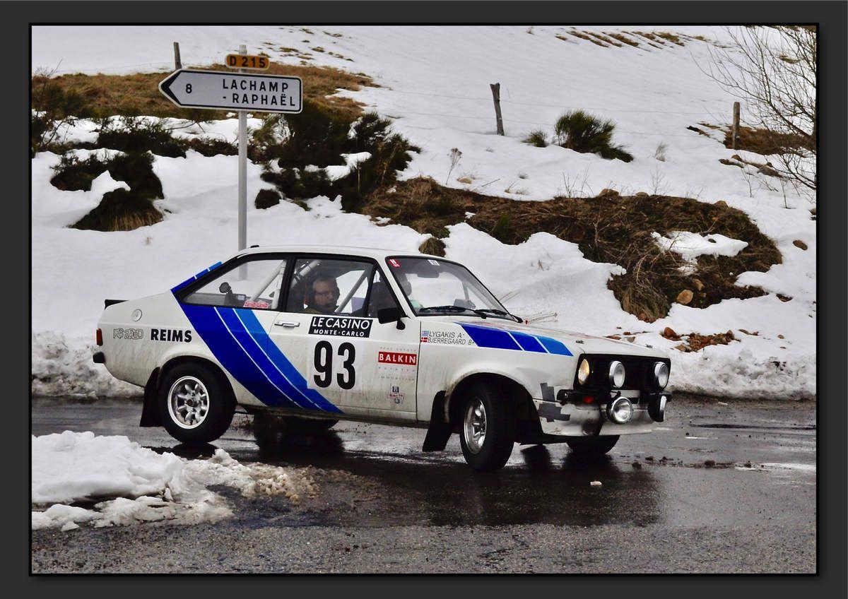 Henrik BJERREGAARD (MCO) Antonios LYGAKIS (MCO) - Ford Escort RS 2000 MKII de 1979