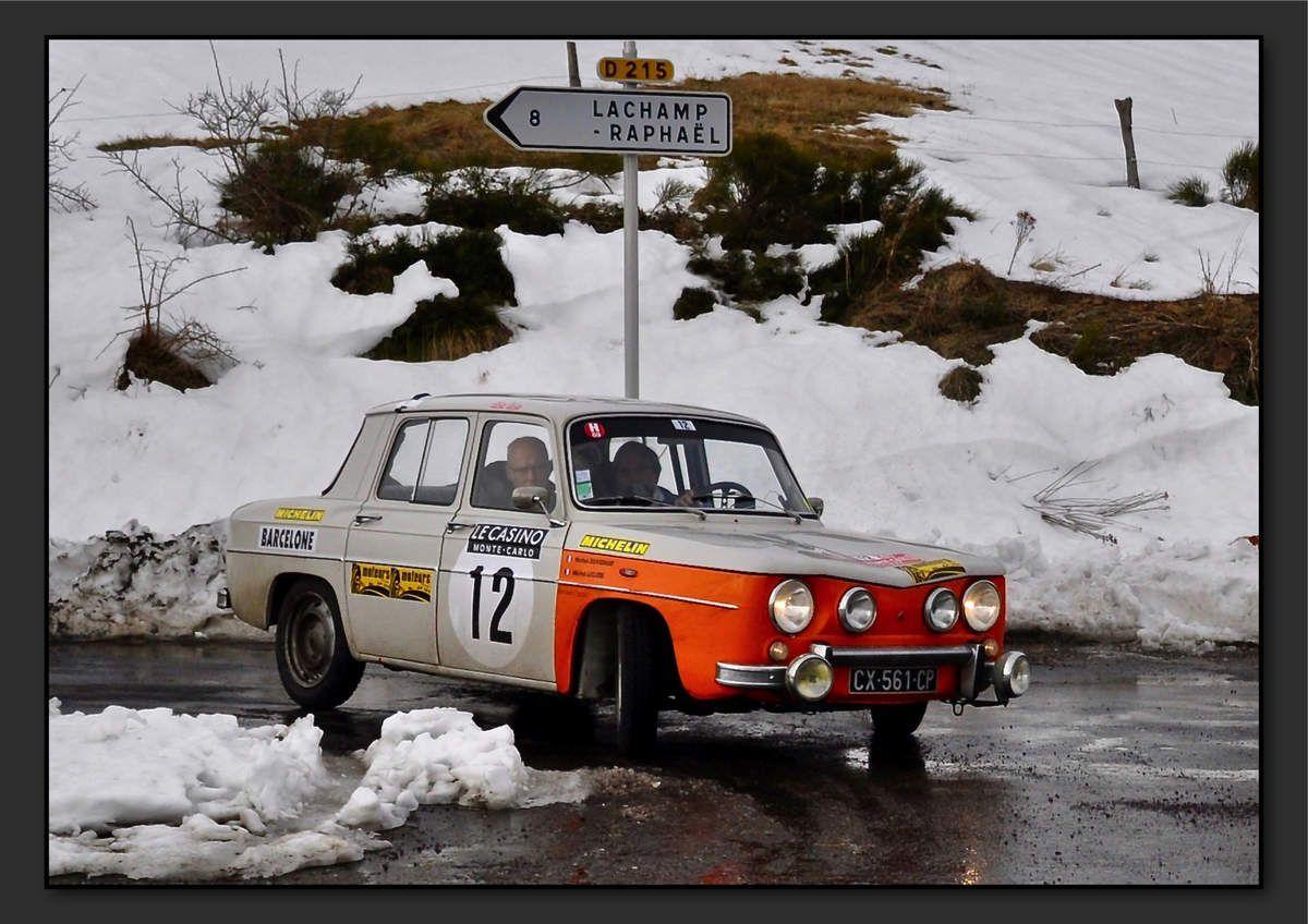 Michel LECLERE (FRA) Michel DUVERNAY (FRA) - Renault 8 Gordini de 1969
