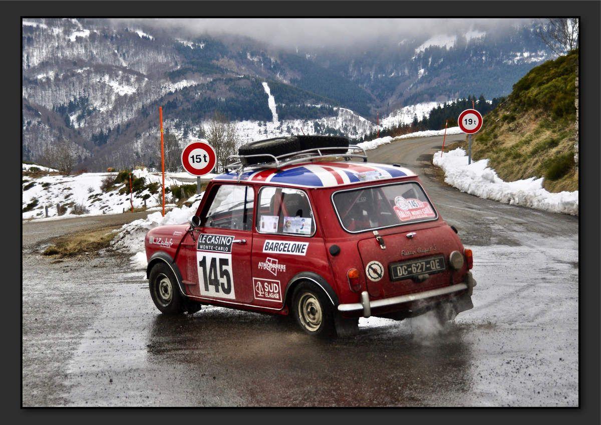 Aurélien LAVA (FRA) Sylvain LAVA (FRA) - Austin Mini Cooper S de 1965