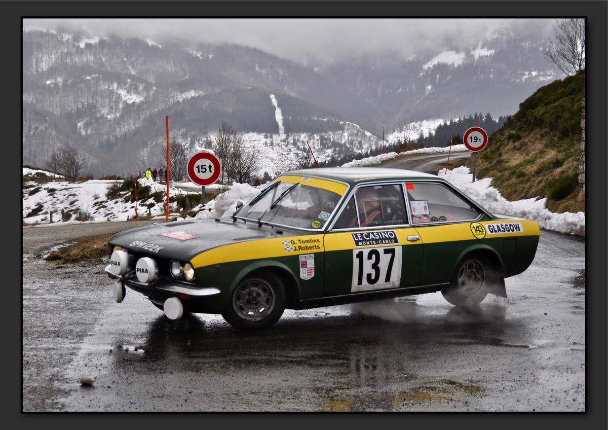 John ROBERTS (GBR) Oliver TOMLINS (GBR) - Fiat 124 Coupé de 1972