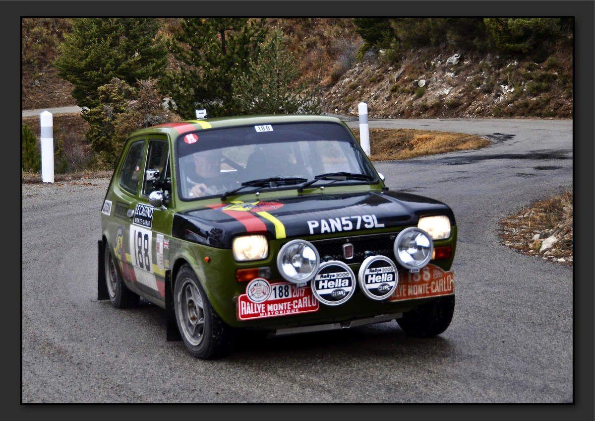 David POWER (GBR) Art ATWAL (GBR) - Fiat 127 de 1973
