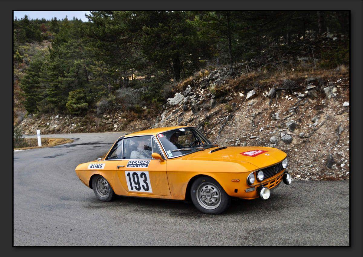 Olivier CROGUENNEC (FRA) Didier JAHAN (FRA) - Lancia Fulvia HF 1600 de 1972