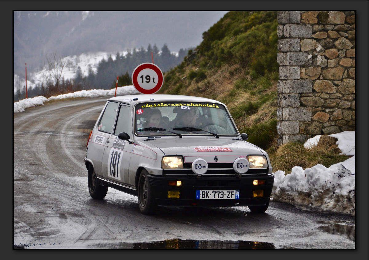 Jacques RONDARD (FRA) Marie RONDARD (FRA) - Renault 5 Alpine de 1976