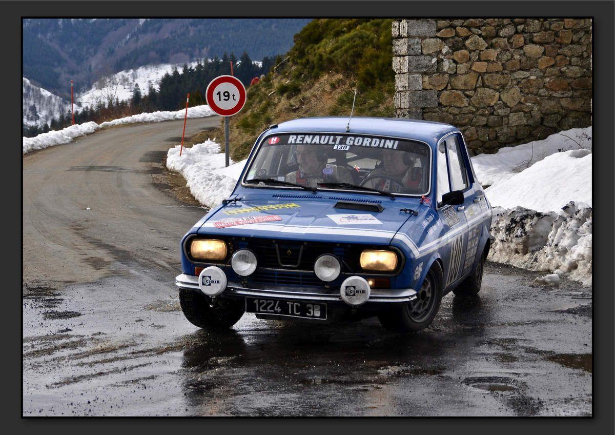 Christian MICHAL (FRA) Bernard VIVIER (FRA) - Renault 12 Gordini de 1971
