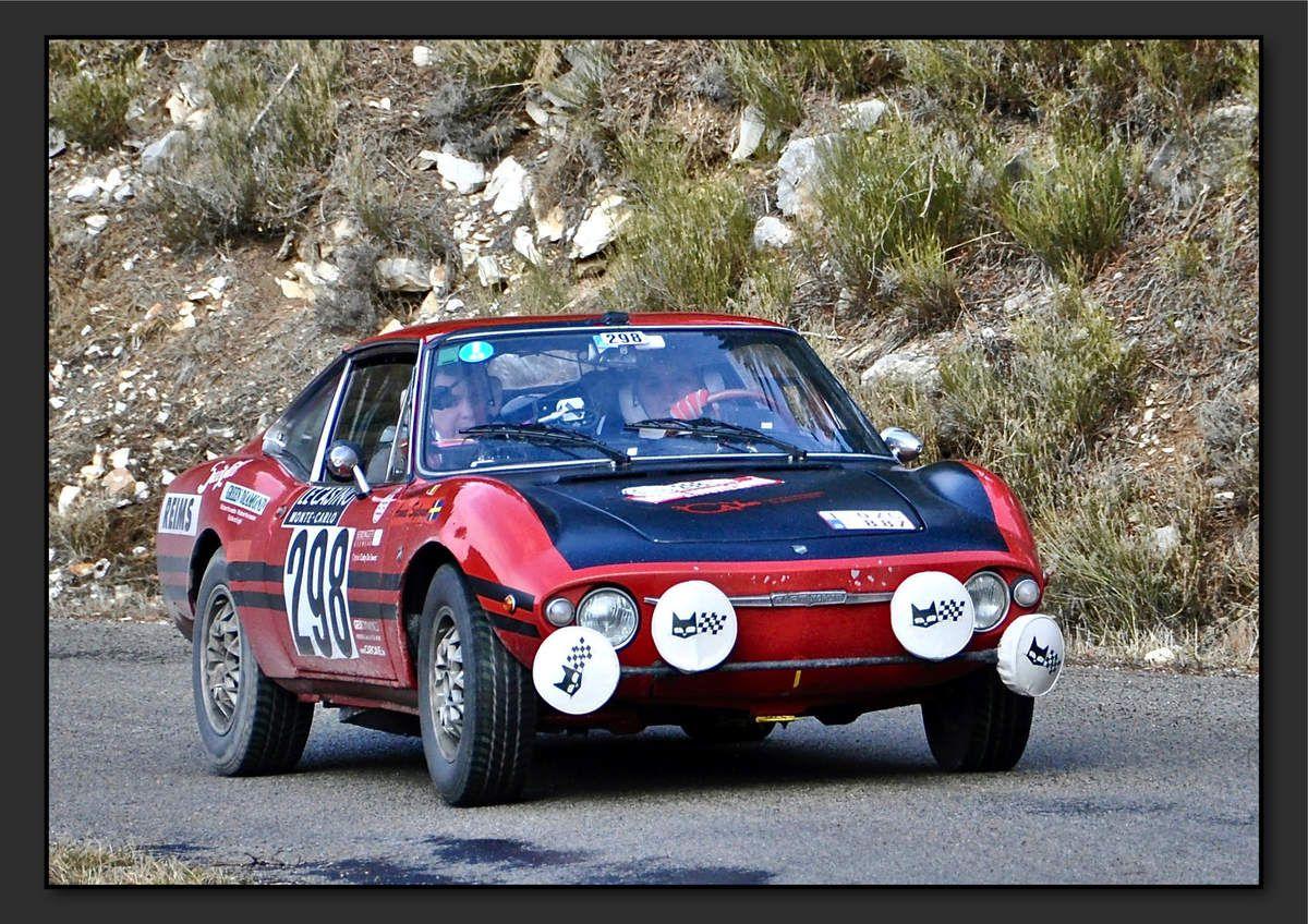 Patricia LAMBERT (BEL) Anna SYLVAN (SWE) - Fiat Moretti 850 S de 1968